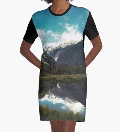 (Franz-Josef-Gletscher) Wo der Schnee schmilzt T-Shirt Kleid