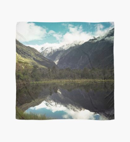 (Franz-Josef-Gletscher) Wo der Schnee schmilzt Tuch
