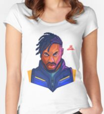 Kilmonger Was Right Women's Fitted Scoop T-Shirt