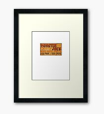 Truck and Tow Framed Print
