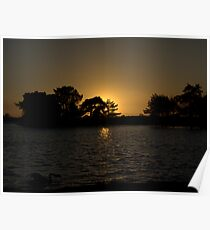New Forest Sunset Poster