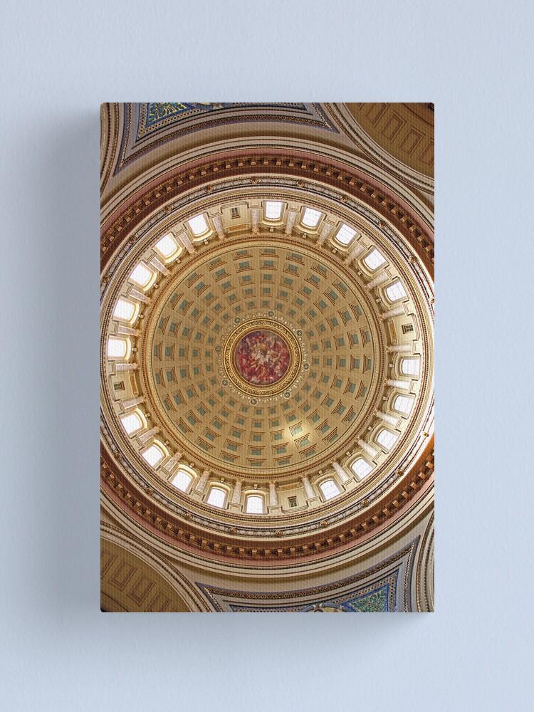 Alternate view of Wisconsin Capitol Rotunda - I Canvas Print