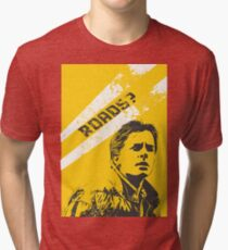 Marty McFly - Roads?  Tri-blend T-Shirt