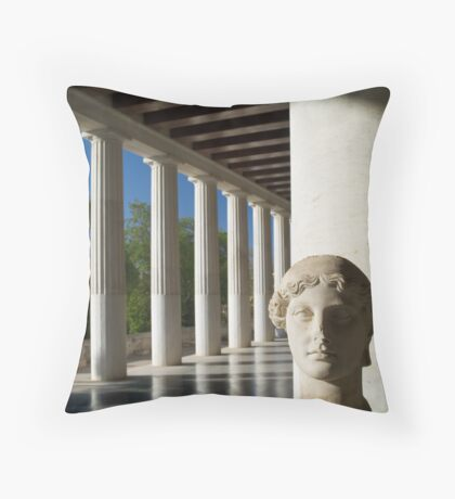 Stoa Atallou Throw Pillow