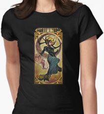 Hela Goddess of Death Women's Fitted T-Shirt