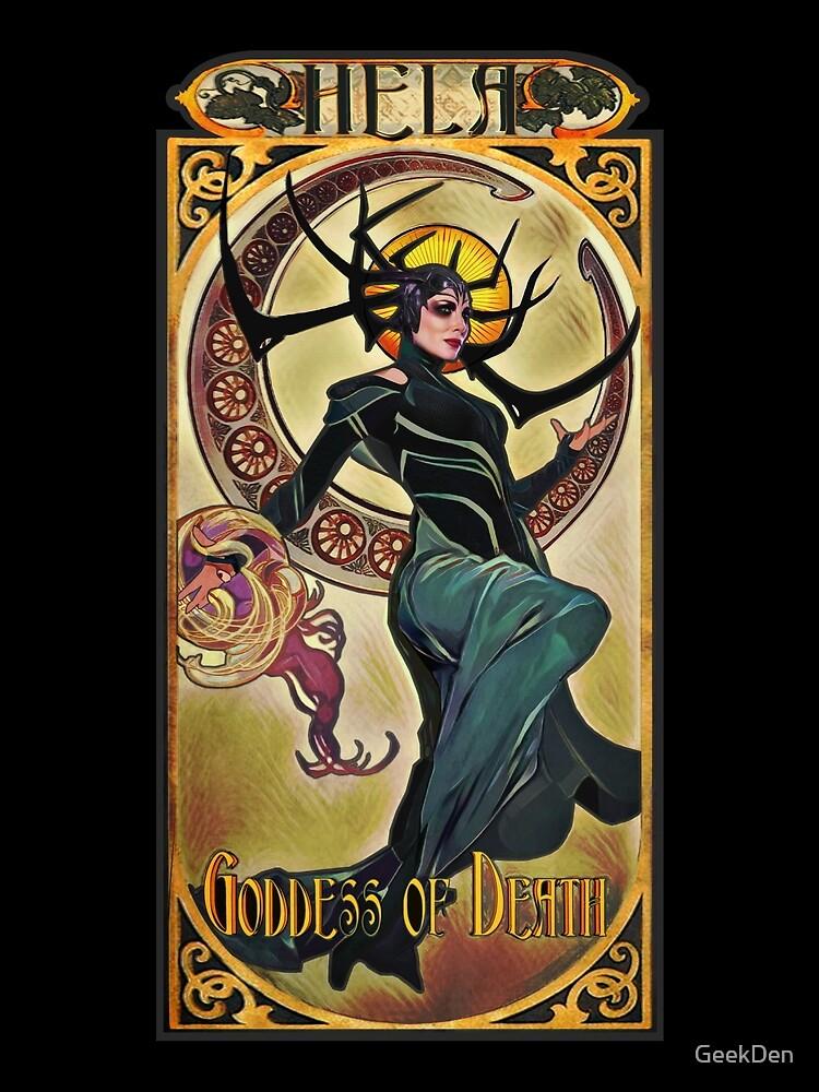 Hela Göttin des Todes von GeekDen