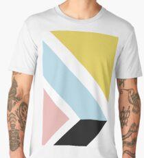 Modern geometric art Men's Premium T-Shirt