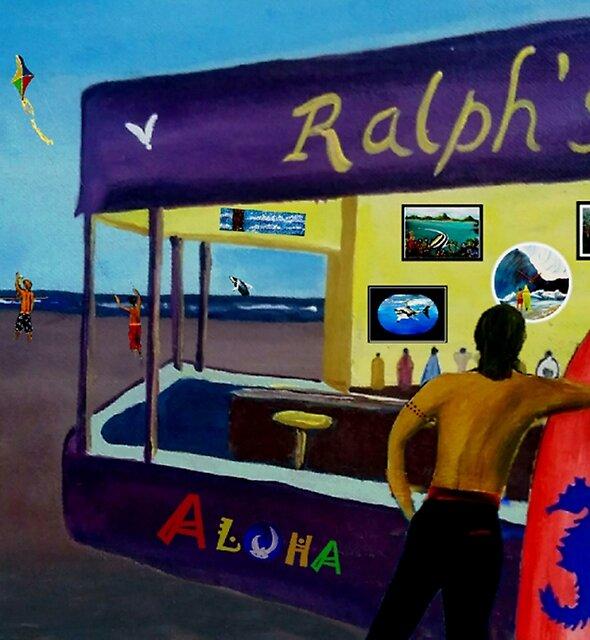 DOWN AT RALPHS  by WhiteDove Studio kj gordon