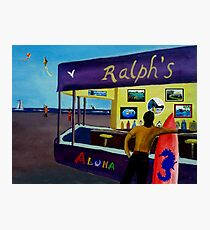 DOWN AT RALPHS  Photographic Print