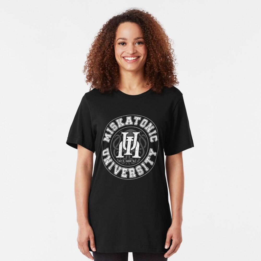 Miskatonic University Slim Fit T-Shirt