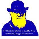 Darwin speaks on his birthday..... by TeeArt