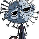 Pinhead Sticker - Terror Toddler by thecalgee