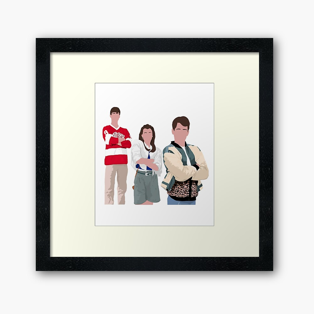 Ferris Bueller Art Framed Art Print