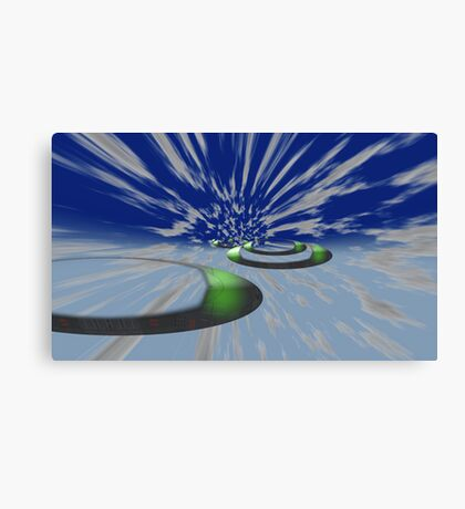 Hyperdrive Canvas Print