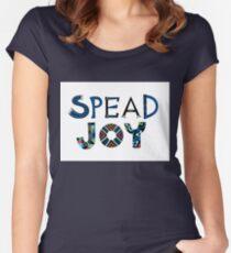 spread joy Women's Fitted Scoop T-Shirt