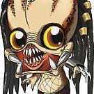 Predator Sticker - Terror Toddler by thecalgee