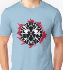 Blutiger Kompass Vegvisir Unisex T-Shirt