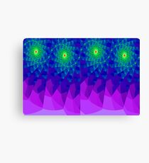 Evening Abstract Canvas Print