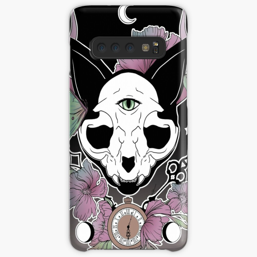 Twilight -- Skull Cat Case & Skin for Samsung Galaxy