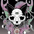 Twilight -- Skull Cat by Bianca Loran