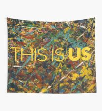 This is Us Painting Wall Tapestry