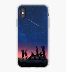 Vinilo o funda para iPhone BTS Sunset Night Sky