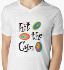 hit the gym Men's V-Neck T-Shirt