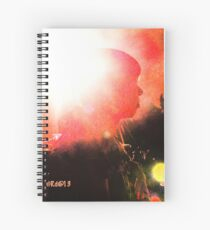A Flash Of Light Spiral Notebook