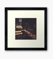 Chicago City Lights Framed Print