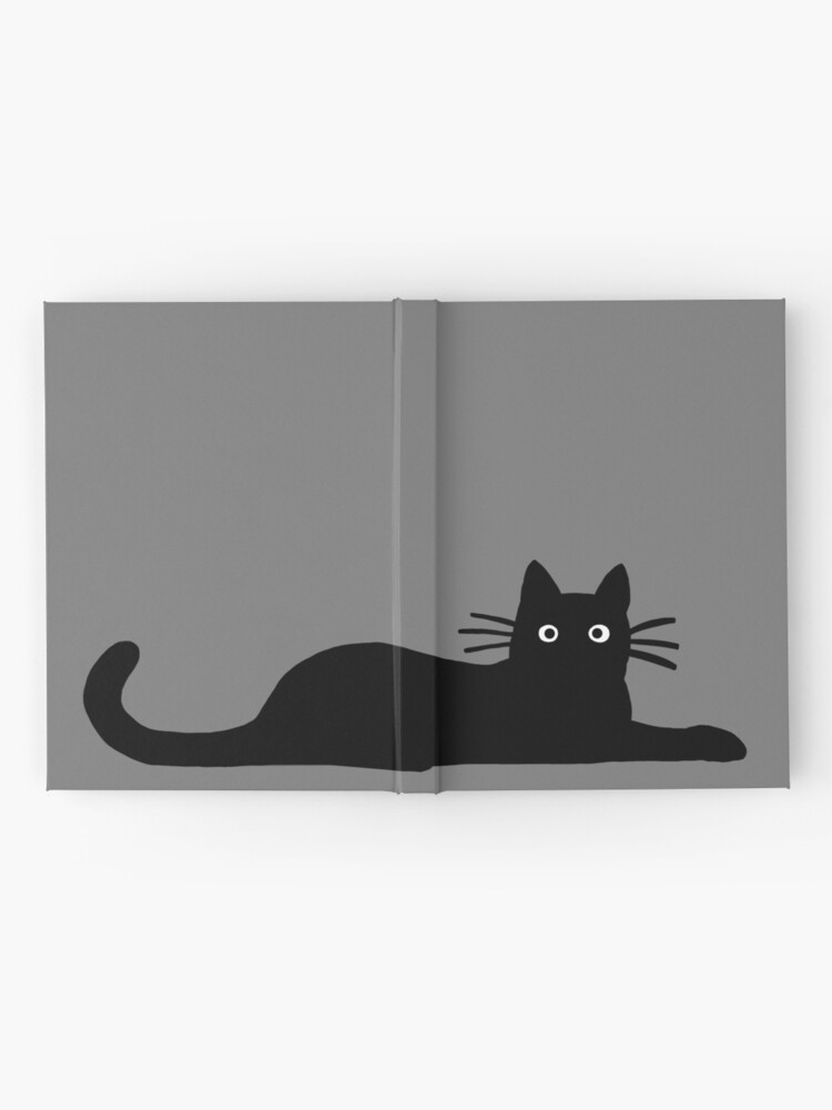 Alternate view of Black Cat Hardcover Journal
