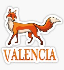 Valencia Fox Sticker