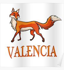 Póster Valencia Fox