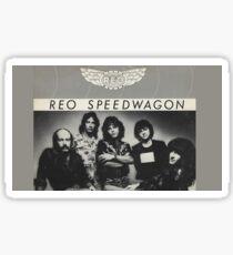 REO Speedwagon Sticker