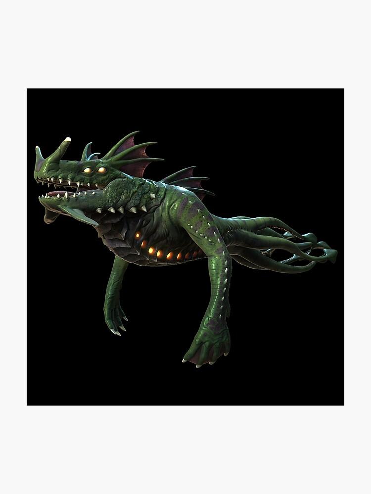 Subnautica - Sea Dragon Leviathan | Photographic Print
