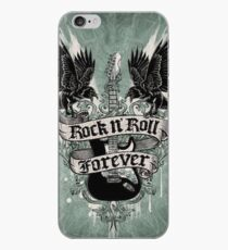 Rock N' Roll Forever iPhone Case