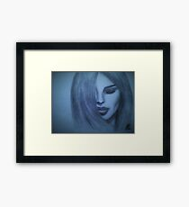 Lady Azuli Framed Print