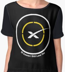 SpaceX Of Course I Still Love You (OCISLY) Drone Ship Chiffon Top