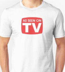 As seen on TV red sign T-Shirt