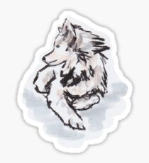Wolfie Sticker