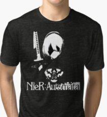 Camiseta de tejido mixto NIER AUTOMATA