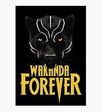 Wakanda Forever Photographic Print