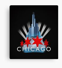 Chicago the Windy City Canvas Print