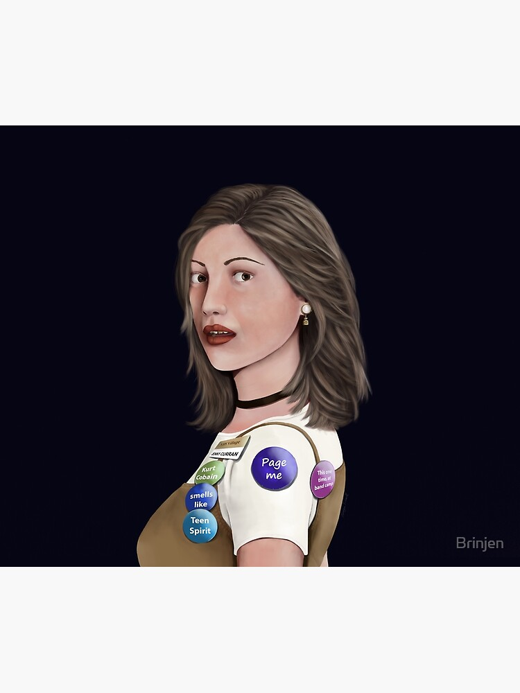 90's Girl With The Pearl Earring by Brinjen