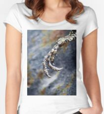 ©NS Reptile Hand IA Women's Fitted Scoop T-Shirt