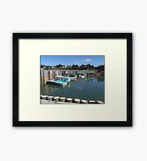 Boats at Half-Tide Framed Print