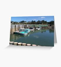 Boats at Half-Tide Greeting Card