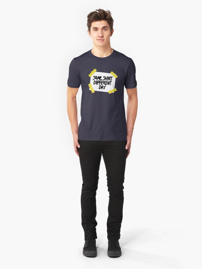 Alternate view of Same Shirt Different Day Slim Fit T-Shirt