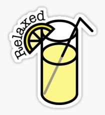 Relaxed Lemonade Sticker