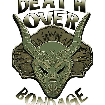 Death Over Bondage by kmpfanworks