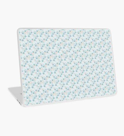 Little Blue FLowers Laptop Skin
